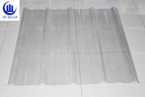 China FRP Transparent Roofing Sheets Corrugated Roofing Plastic Spanish Tile on sale