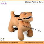 Plush Animal Riding Dinosaur Type Riding Toy for Kids with CE Certificate, Safe Driving!