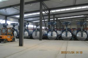 Quality Industrial Insulated AAC Autoclave With Autoclaved Aerated Concrete Block ASME for sale