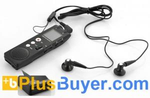 China Digital Bluetooth Voice Recorder for Cell Phones with Noise Reduction - 8 GB on sale