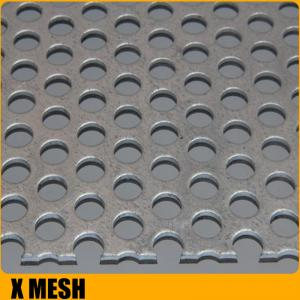 China 1.22x2.44m oval hole perforated aluminum metal sheet importer for Oceania on sale