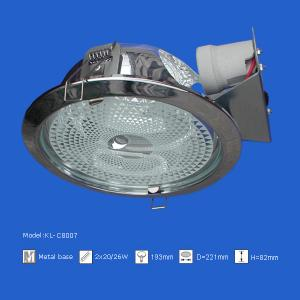 China Housing downlight square white on sale