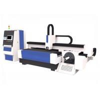 Stainless Steel Craftwork CNC Fiber Laser Cutting Machine 1500 * 3000mm Easy Operation