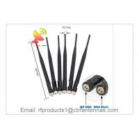 C&T RF Antennas Omni Antenna N-type 4G LTE Rubber Duck Antenna with 90 Degrees Bendable Swivel Joint