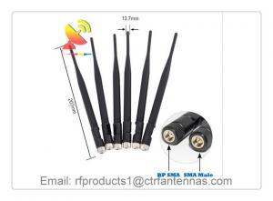 China C&T RF Antennas Omni Antenna N-type 4G LTE Rubber Duck Antenna with 90 Degrees Bendable Swivel Joint on sale