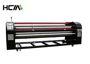 China Sublimation Printing Roll To Roll Digital Fabric Heat Press Machine For Curtains on sale