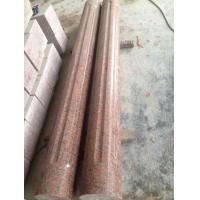 China Capao Bonito Granite Column,Crown Red Granite Roman Column,Maple Leaf Red Granite Columns