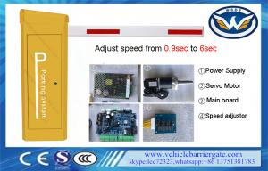China Automatic PMSM Motor RS485 Vehicle Barrier Gate Maintenance Free on sale