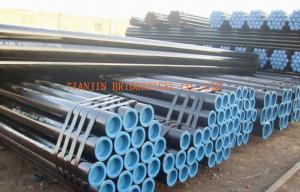 China Hot Rolled Carbon Steel Seamless Pipe Schedule 40 / Schedule 80 , Black Painted on sale