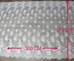 уравновешивание шнурка ресницы 300 * 150 cm для занавеса окна, ткани таблицы CY-HB0456