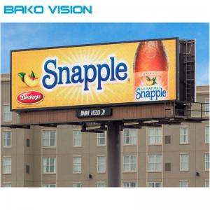 China SMD P10 IP65 Outdoor LED Display High Brightness For Fixed Installation on sale