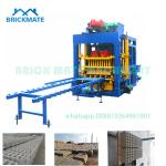 Low investment QT4-25 Automatic cement concrete hollow solid block making machine price
