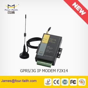 China F2414 intelligent 3g MODEM with sim card slot support RS232/485 for Telemetery & M2M remote monitoring on sale