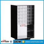 China Wholesale Competive Price acrylic Black Spinning Makeup Organizer wholesale