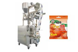 China Automatic Small Soft Candy Sachet Packing Machine With Stepping Motor on sale