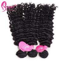 China 3 Bundles Curly Lace Frontal 100 % Human Virgin Hair Grade 9 A on sale