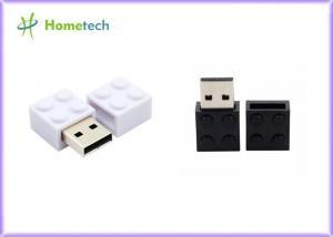 China Toy Brick Custom Usb Flash Drives 16GB 32GB Plastic Building Block Pendrive Gift on sale