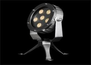 China 12W Stainless Steel LED Illumination Lights , Landscape LED Underwater Spot Light on sale