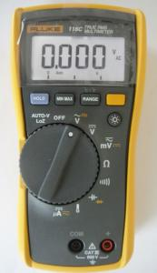 China Fluke Electrical instrument 116C / Ture RMS Fluke Digital multimeter on sale
