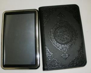 China Muslim Islamic Koran 7 inch touch screen Digital Quran Translation Ebook with Video on sale