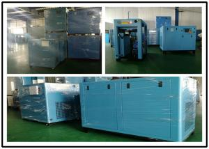 China Stationary Oil Lubricated Low Noise Air Compressor 132KW 3 Phase Single Stage on sale