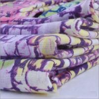 Soft Touch Knitted Poly Ring Spun Single Printed High Quality Jersey Fabric