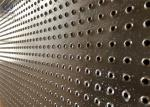 Security Safety Grating Perforated Metal Mesh Embossed Sheet For Crafts