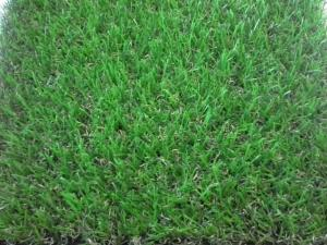 China 4 Color Home Artificial Grass 25mm Height With PE Monofilament Staight & Curly Yarn on sale