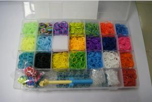 China Silicone & rubber bands , DIY rubber bracelets , shenzhen on sale