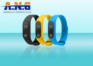 China Sport Smart Silicone Rfid Wristbands Bracelet Motion Planning Mileage Record on sale
