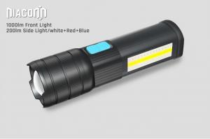 China USB Rechargeable cree Led work Flashlight , COB Side work Light with Magnetic Base on sale