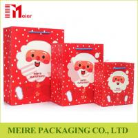 Christmas Santa Claus Pattern Handbag Xmas Decor Wedding Candy Gift Paper Bags