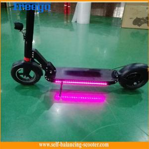 China 10 Inch Wheel 500w Electric Kick Scooter / Lithium Battery Skateboard For Adults on sale