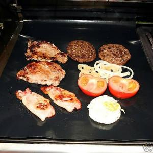 China Non-stick heavy duty grill & BBQ mat ,Fit for all hotplate / grill/ BBQ , cooking without on sale