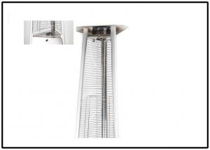 China Durable Outdoor Pyramid Patio Heater With Electronic Ignition Hinged Door Design on sale