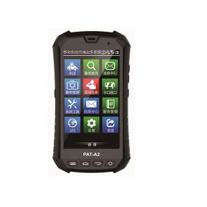 China Industrial PDA with Barcode Scanner, Fingerprint Sensor, Android 5.1 Bluetooth, WIFI, RFID reader on sale