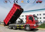 Sino Heavy Duty Mining Trucks Dump Tipper Truck Howo 6x4 371hp 380hp 30 Ton Capacity