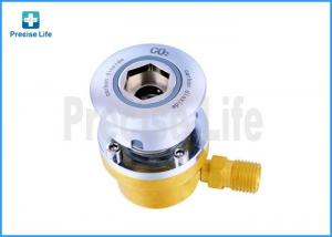 China CO2 Brass Medical Gas Outlet Germany Standard With 8mm Tube on sale