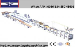 China Stainless Steel Made Automatic Biscuit Production Line on sale