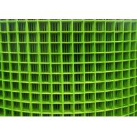 China Chicken Cage BWG18 Green Pvc Coated Welded Wire Mesh on sale