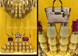 China Promotional Shop Display Christmas Decorations Big Size Fiberglass Bobbin Sculpture on sale