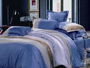 China elegant Bright Sateen Bedding王セット、クリスマスのプレゼントのベッド セット on sale