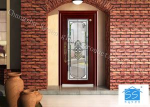 China Soundproof French Decorative Door Panel InsertsAnti Knock 25 Mm Solid on sale