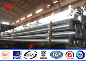 China 10m 11m light pole light column for Uruguay  with hot dip galvanization on sale