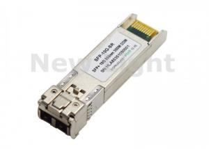 China SFP-10G-SR 10G SFP Fiber Optic Transceiver , Multimode Fiber Transceiver Dual LC on sale