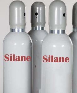 China Industrial Grade Silane SiH4 Gas In Vapor Deposition Thin Film Process CAS No. 7803-62-5 with 99.99% Purity on sale