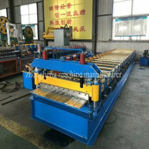 China 1050 Type Roofing Sheet Roll Forming Machine / Roofing Sheet Making Machine on sale