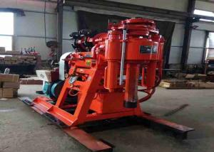 China Easy Moving Deep Well Drilling Machine 220V/380V Mining Core Drilling Equipment on sale