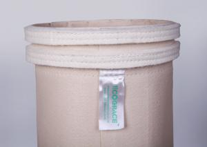 China Snap Band Dust Collector Filter Bags PTFE membrane 17 oz Fabric Bag Filter on sale