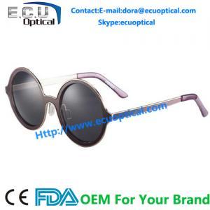China 2014 New Fashion Vintage Round Frames Womens Sunglasses Retro Round Half Frame Metal Arm Sunglasses Ladies sunglasses on sale